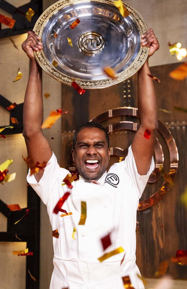 Sahsi Cheliah has been crowned the winner of MasterChef Australia 2018.