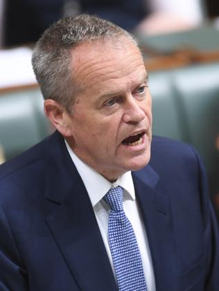Labor leader Bill Shorten. Picture: AAP Image/Lukas Coch