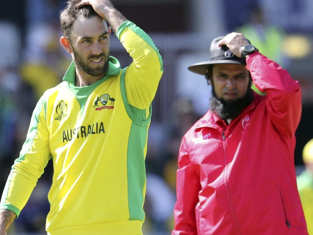 Australia's Glenn Maxwell was ready to give it all up.