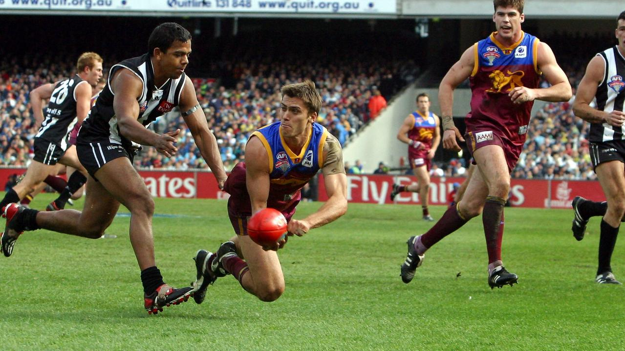 Simon Black had 39 touches against Collingwood.