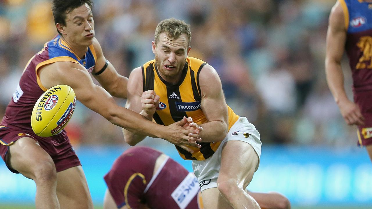 Tom Mitchell of the Hawks has been prolific in 2018.