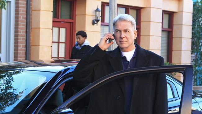 Original ... NCIS lead Mark Harmon has been with the series since its first episode. Picture: Channel 10