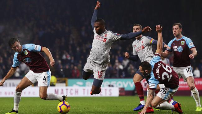 Sturridge was recently accused of diving by Burnley manager Sean Dyche.