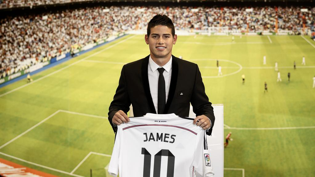 Real Madrid sign Colombian World Cup hero James Rodriguez  1fde774ad