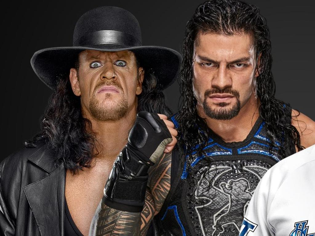 The Undertaker will team up with Roman Reigns for the first time ever at WWE Extreme Rules.