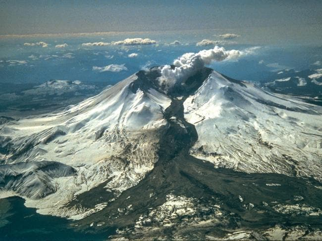 Mount St Helens. Picture: Courtesy Mount St Helens Science and Learning/Tom Casadevall