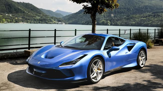 The Ferrari F8 Tributo is the more powerful successor to the 488. Picture: Supplied.