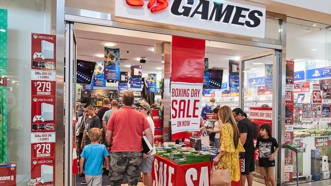 At least 19 EB Games stores are closing. Picture: AAP Image/Matt Loxton