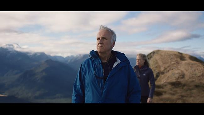 James Cameron in 100% Pure New Zealand