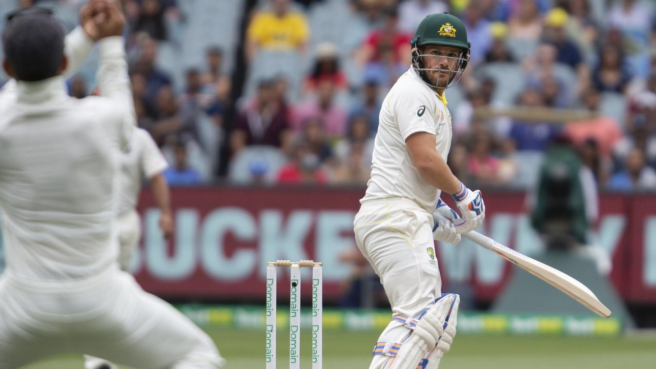 Aaron Finch's second innings dismissal in Melbourne saw him dropped for Sydney.