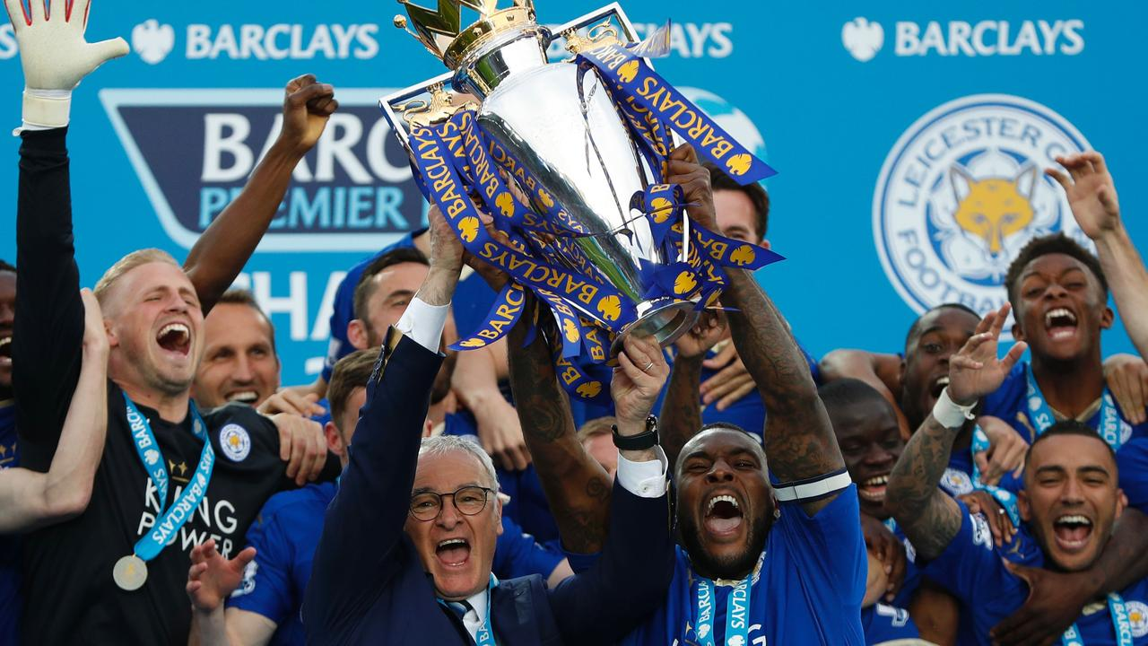 Leicester City lifted the Premier League trophy in the 2015/16 season.