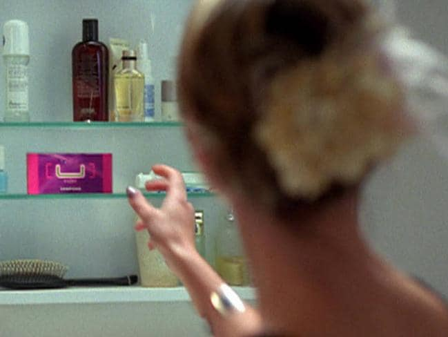 Popular brand ... Scene from a 2004 TV commercial for Kotex sanitary pads and tampons. Picture: Supplied