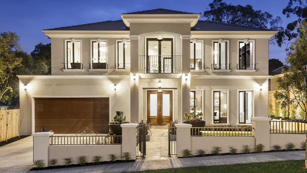 The French Provincial Home At 20 Landridge St Glen Waverley Has A Long List