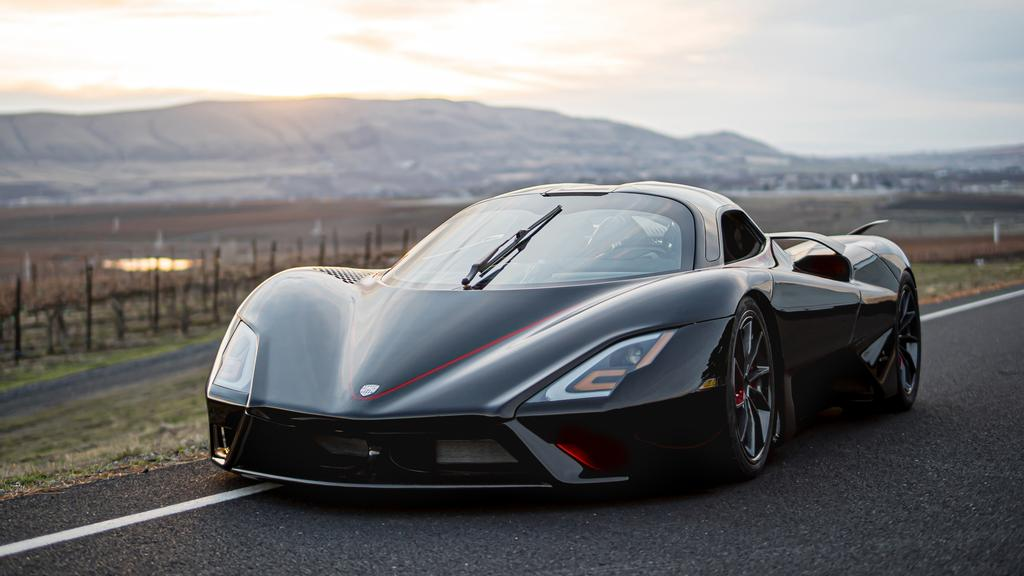 SSC Tuatara set a new world record for the fastest production car at 508km/h.