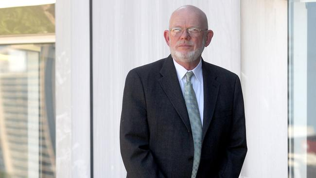 Ready to fight. US Aviation Lawyer Jerry Skinner is representing 33 next of kin in a case seeking $10 million compensation for each passenger killed in the MH17 atrocity. Picture: Adam Smith