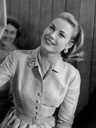Grace Kelly in her parents' home in Philadelphia. Picture: Getty Images