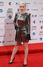 Olympia arrives on the red carpet for the 30th Annual ARIA Awards 2016 at The Star on November 23, 2016 in Sydney, Australia. Picture: Jonathan Ng