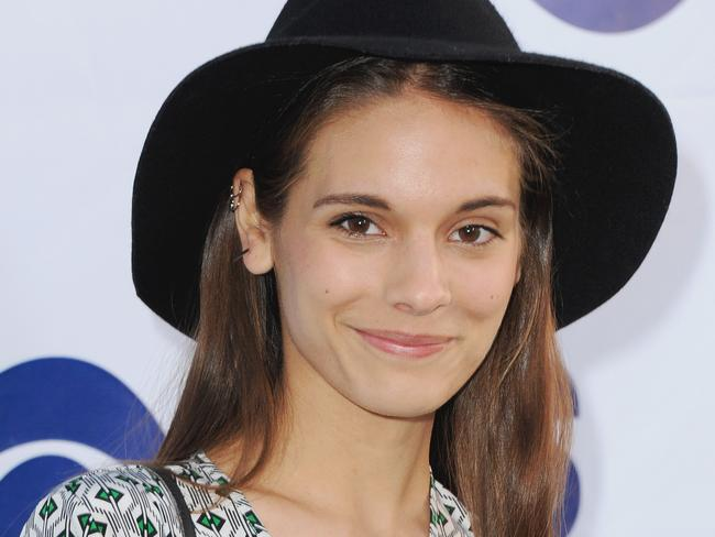 "Caitlin Stasey says she is in a ""somewhat open relationship"" with boyfriend Lucas Neff."