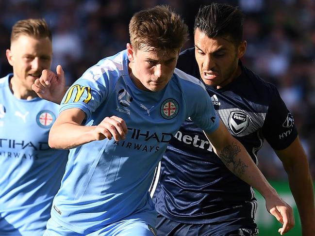 Connor Metcalfe is one of only a handful of Olyroos playing regularly.