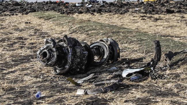 Investigation are still continuing into both the Ethiopian and Lion Air crashes, which both involved Boeing 737 MAX 8 aircraft. Picture: Michael Tewelde/AFP