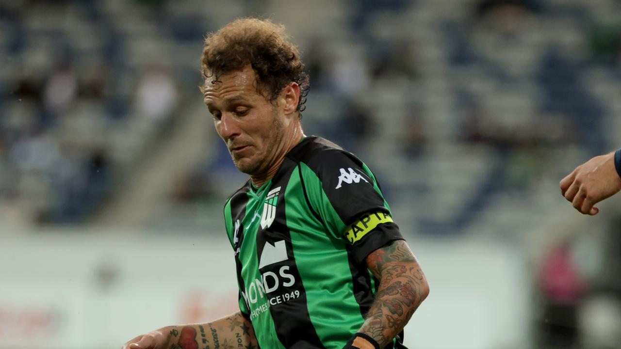 Alessandro Diamanti of Western United threatened throughout the night. Picture: Jonathan DiMaggio