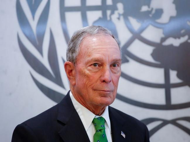 Michael Bloomberg is preparing to enter the crowded race to become the Democratic nominee for the 2020 presidential election. Picture: AFP