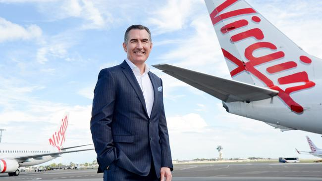 Virgin Australia's CEO Paul Scurrah says all flight routes will be reviewed. Picture: Jeremy Piper