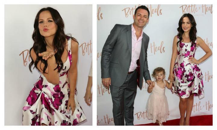 Tammin Sursok's gorgeous daughter Phoenix rocks the red carpet like a pro!