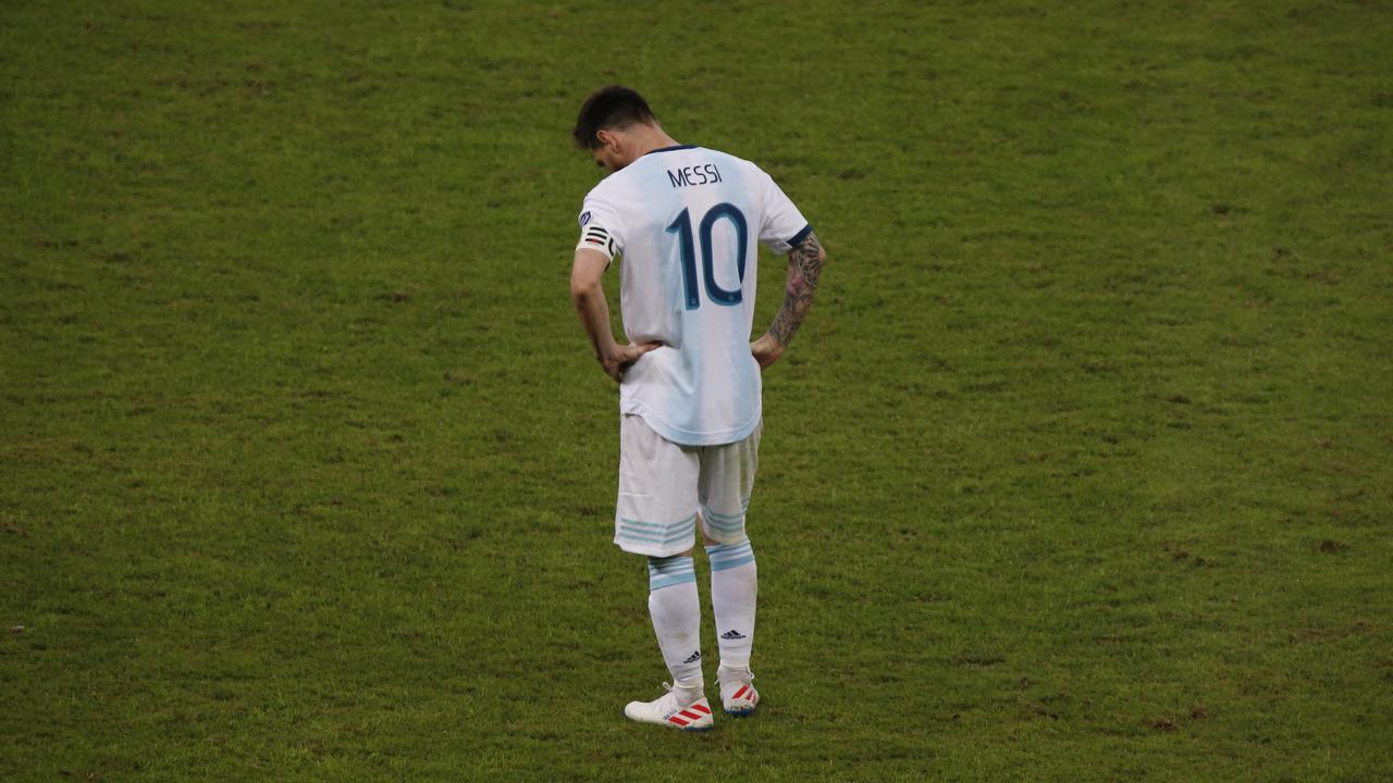 It was more misery for Lionel Messi