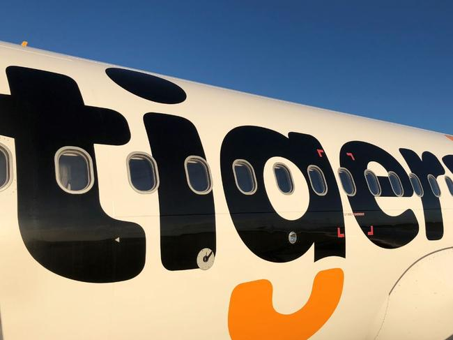 Tigerair has urged passengers on the key flight to contact their doctor. Picture: Tigerair