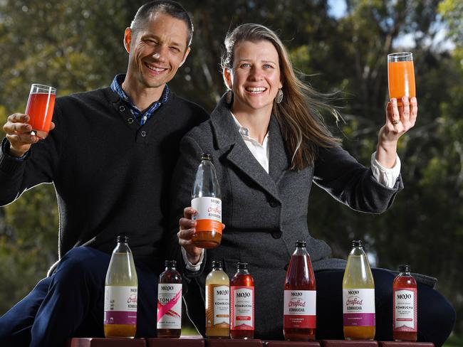 Coca-Cola bought South Aussie kombucha tea maker Mojo in September. Picture: Tom Huntley