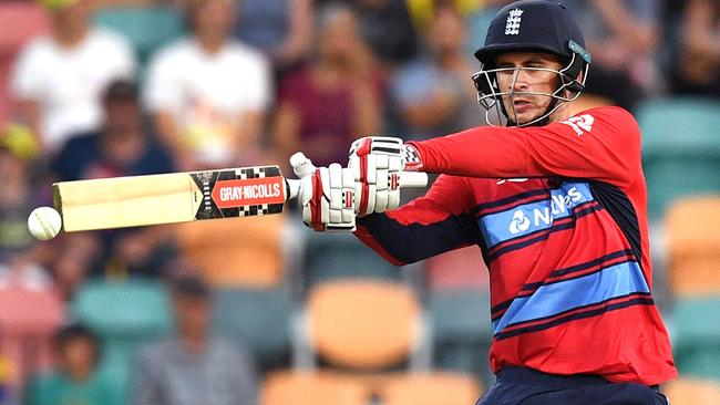Big-hitting Englishman Alex Hales has been one of the marquee signings of the BBL off-season.