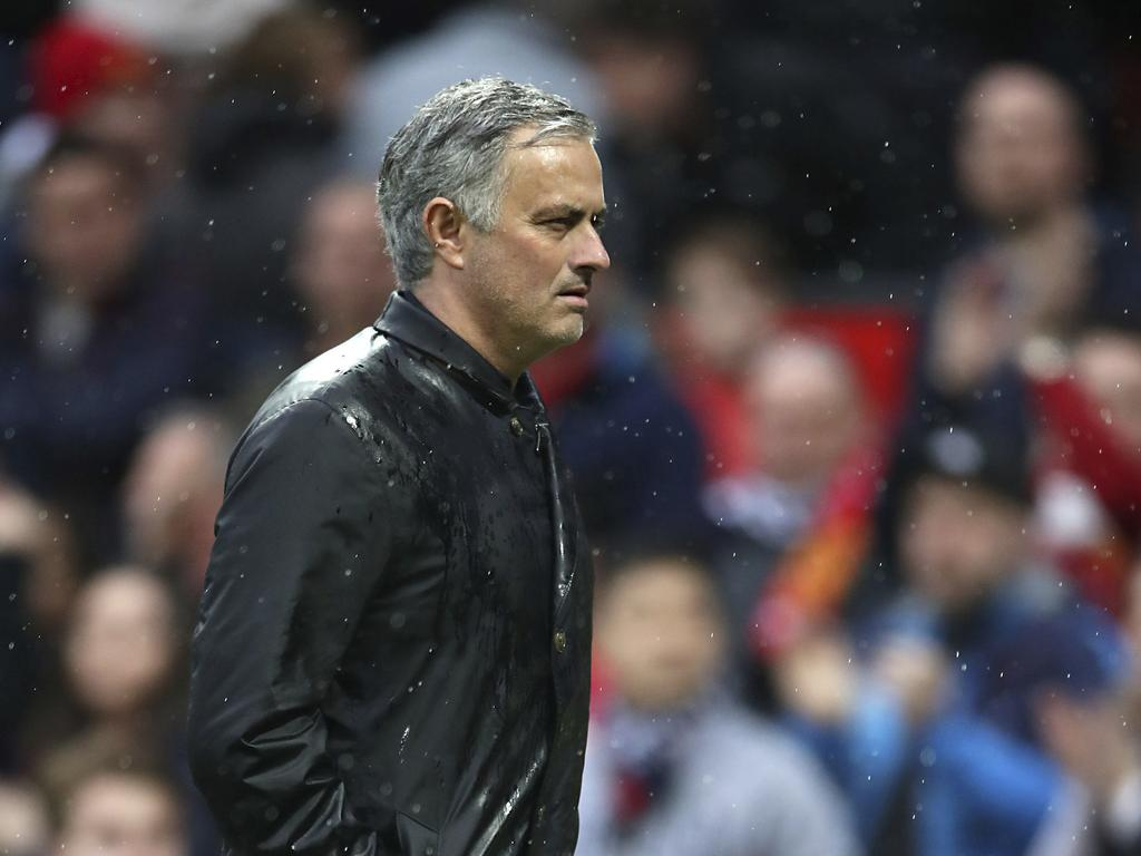 Jose Mourinho: We deserve to be punished.