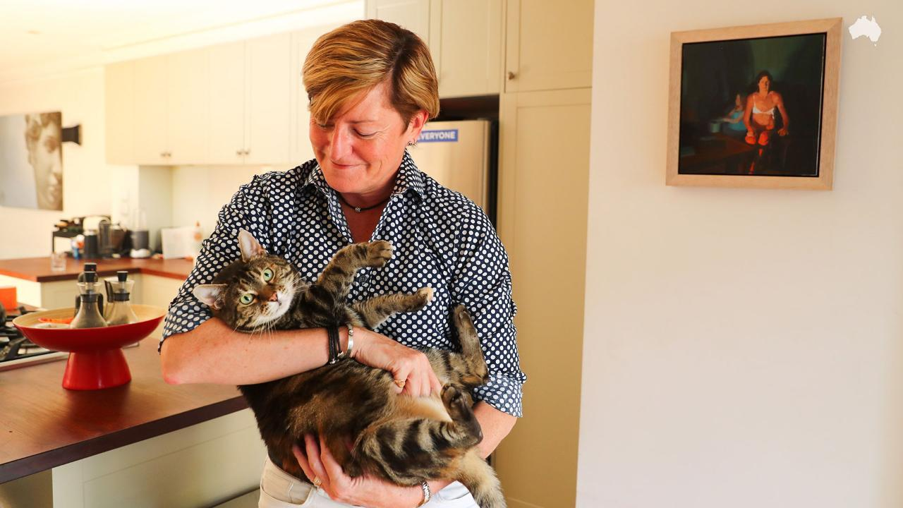 At home with Christine Forster