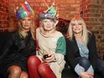 Pamela Anderson, Dame Vivienne Westwood and Jo Wood attend Dame Vivienne Westwood and James Jagger's Mad Max party in aid of climate change during London Fashion Week at Fabric on February 20, 2017 in London, England. Picture: Getty