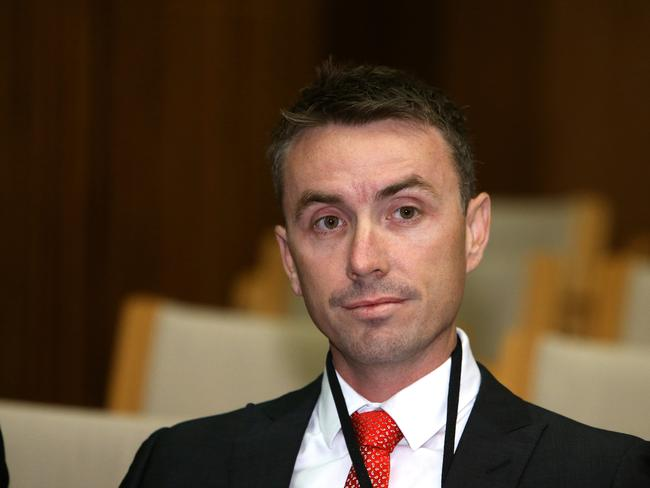 "Former One Nation president Ian Nelson says James Ashby's political ambitions are an ""open secret"". Picture: Kym Smith"