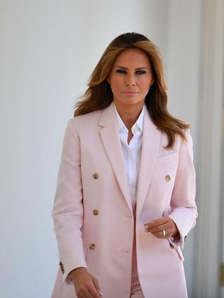 US First Lady Melania Trump. Picture: AFP