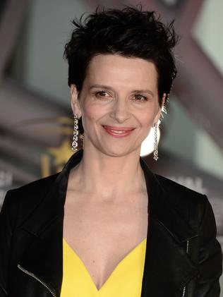 Juliette Binoche attends a premiere in Marrakech last year.