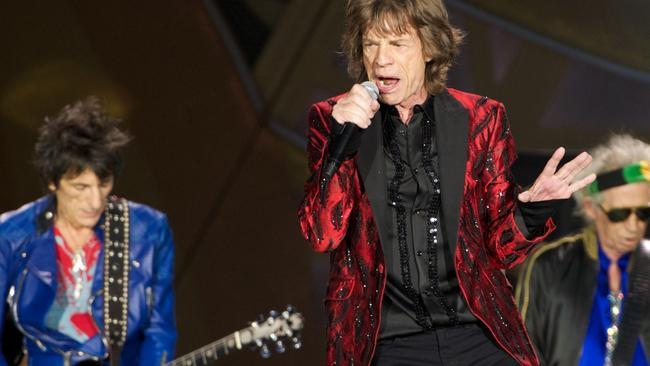 Satisfaction guaranteed ... The Rolling Stones in Madrid this week. Picture: Getty Images
