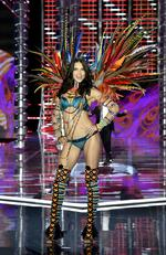 Adriana Lima walks the runway during the 2017 Victoria's Secret Fashion Show In Shanghai at Mercedes-Benz Arena on November 20, 2017 in Shanghai, China. Picture: Frazer Harrison/Getty Images for Victoria's Secret