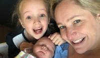 Fifi Box and her children.