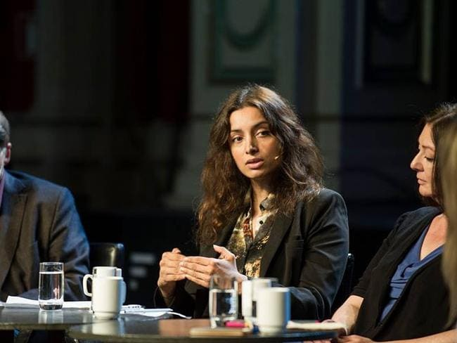 Deeyah Khan has spoken at the UN and recently launched an online magazine aimed at Muslim women. Picture: Deeyah Khan