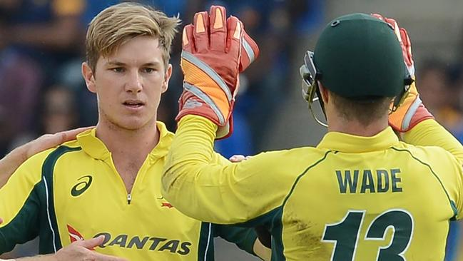 Spinner Adam Zampa is set to return from national duties to bolster the Redbacks' bowling attack. Picture: Lakruwan Wanniarachchi (AFP)