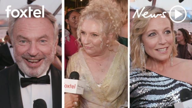 Logies red carpet interviews