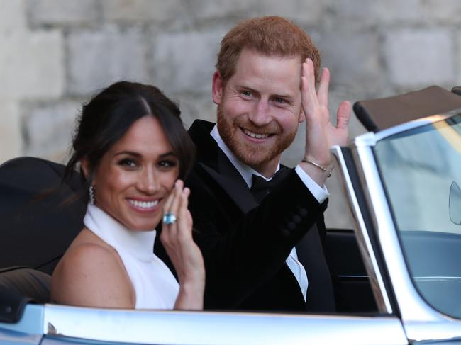 "Meghan, Duchess of Sussex and Prince Harry, Duke of Sussex. Meghan's spending is being criticised as ""extravagant"". Picture: WPA Pool/Getty Images"