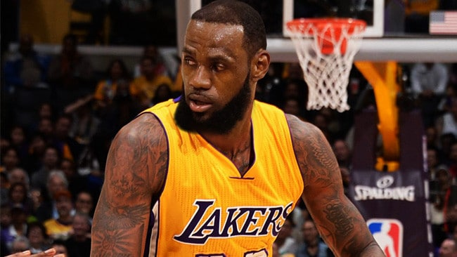 5c061e5f5f9 Can LeBron James bring showtime back to the Lakers  Picture  Digital Image