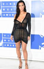 Kim Kardashian West attends the 2016 MTV Video Music Awards at Madison Square Garden on August 28, 2016 in New York City. Picture: Jamie McCarthy/Getty Images