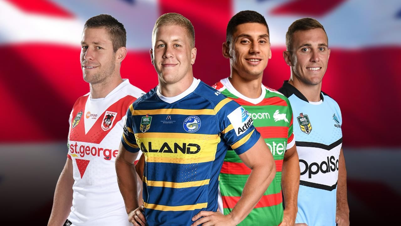 A host of NRL players are reportedly being shopped to English clubs.