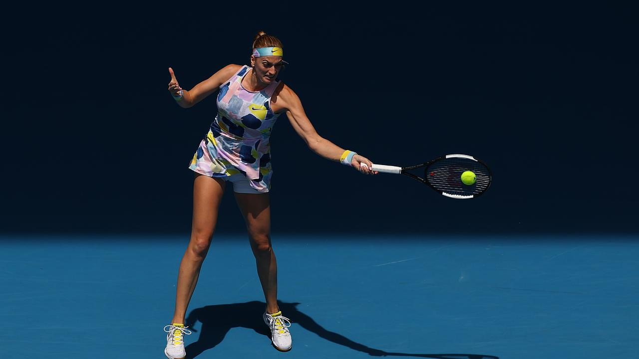 Petra Kvitova's power is one of her biggest strengths.