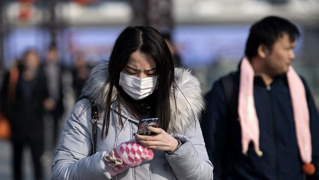 The virus has already spread around China and internationally. Picture: Noel Celis/AFP
